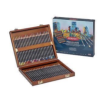 Derwent Procolour 48 Wooden Box Set