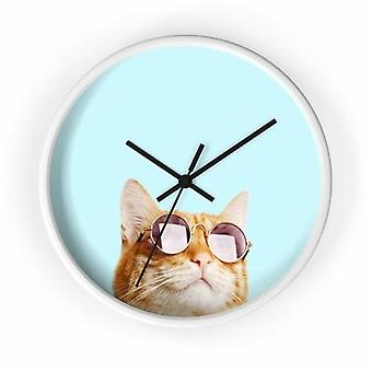 Cat Is Always Right Wall Clock