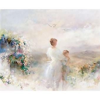 Beautiful view Poster Print by Willem Haenraets