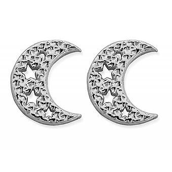 ChloBo SEST3076 Naiset'Tähtitaivaat Moon Stud korvakorut