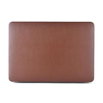 "LeatherCovered Shell MacBook Airille 13"" (2012) Ruskea"