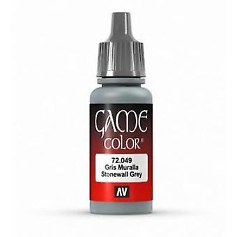 Vallejo Game Color 17ml Acrylic Paint 49 Stonewall grey