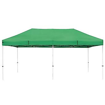 Instahibit 10x20 ft Pop Up Canopy Tent CPAI-84 Commercial Outdoor Trade Fair Canopy Shade Party Tent