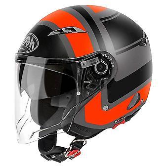 Airoh Helm City One Jet - Wrap Orange Matt