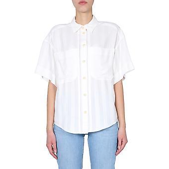 Iro Wp18tanorecr0121s Women's White Cotton Shirt