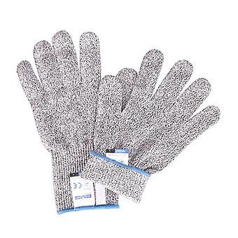 Anti Cut Proof Gloves 5 Safety Work Gloves Cut Resistant Gloves