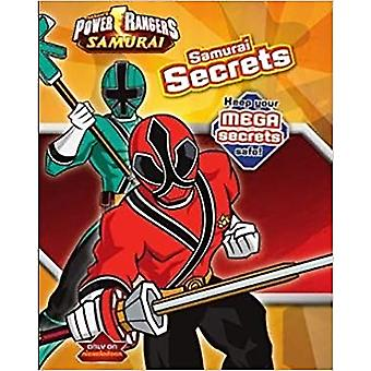 Saban's Power Rangers Samurai Secrets, Keep Your Mega Secrets Safe! Foam Book