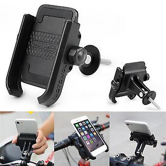 Universal metal adjustable clip holder bicycle bike handlebar mount for mobile phone