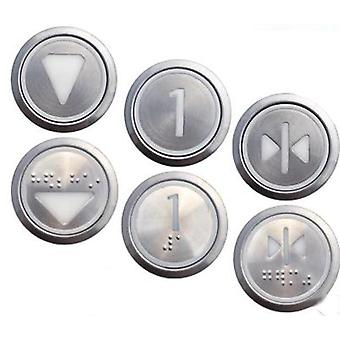 Elevator Accessories Kone Stainless Steel Digital Push Button