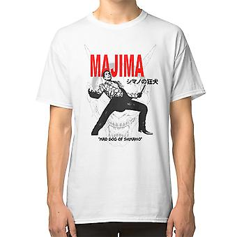 Majima Mad Dog de Shimano T Shirt Yakuza Goro