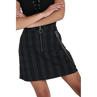 Hell Bunny Storm Mini Skirt