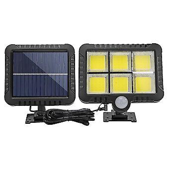 Led Solar Wall Light Pilot Czujnik ruchu Outdoor Garden Lampa
