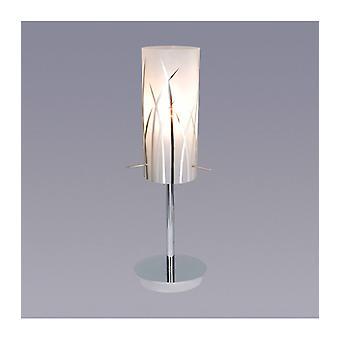 Lámpara De Escritorio Moderna Kosma Chrome