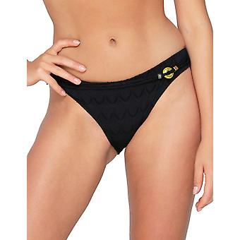 LingaDore Zig Zag 6111B-02 Women's Black Bikini Bottom
