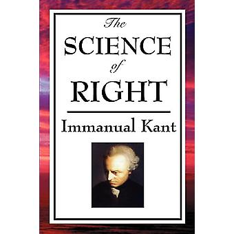 The Science of Right by Immanual Kant - 9781604597134 Book