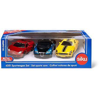 Siku  sports cars 6301 set