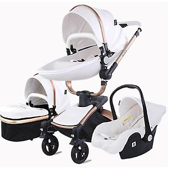3 In 1 Tricycle Baby Walker High Landscape Stroller Folding Strollers Baby