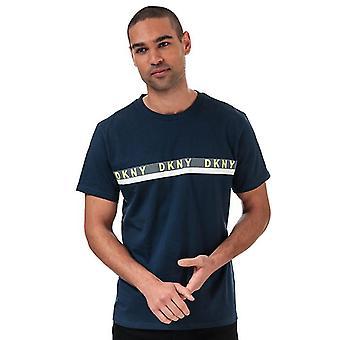 DKNY Raiders Lounge T-shirts för män i blått