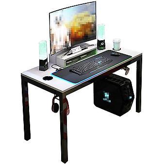 Wokex Alles in einem Spieltisch 120 * 60cm Computertisch Pro mit RGB LED Soft Gaming Mauspad (90 *