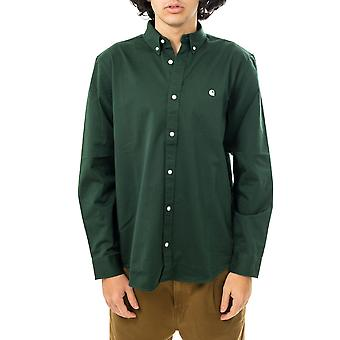 Herren Shirt carhartt wip l/s madison shirt i023339.08z