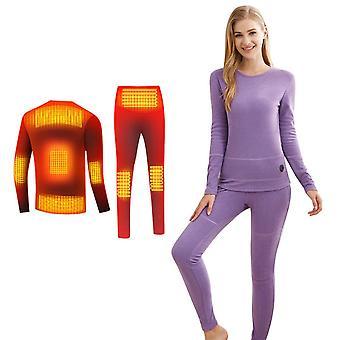 Talvi lämmin lämmitys alusvaatteet puku