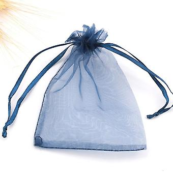 Colorful Organza Bags - Drawstring Jewelry Pouches Packaging Bags
