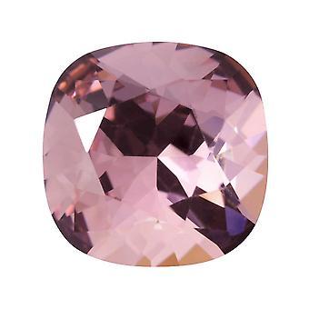 Kryształ Swarovskiego, #4470 Poduszka Fancy Stone 12mm, 1 Kawałek, Crystal Antique Pink Foiled