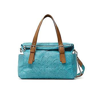Desigual PU Handtasche, Handtasche. Frau, Blau, U(4)