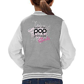 Sindy Superstar Pop Princess Kid's Varsity Jacket