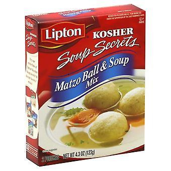 Lipton - Kosher Mix Soup & Matzo Ball, Case of 12 X 4.3 Oz
