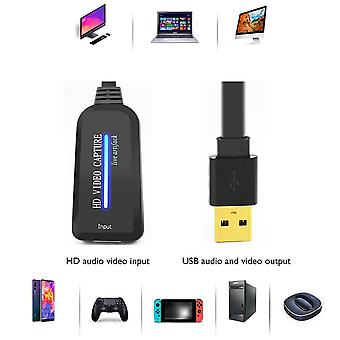 4K video capture card usb to hdmi compatible video grabber record box for ps4 computer components accessories