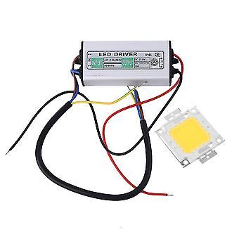 50w Led Smd Chip Żarówki wysoka moc z wodoodpornym zasilaniem sterownika LED