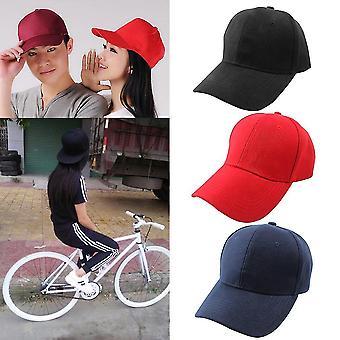 Chapéu de lona estilo polo ajustável lavado bola de beisebol tampa clara sólida viseira