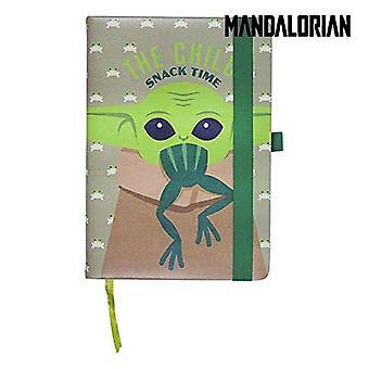 Notebook The Mandalorian Green A5