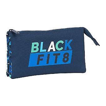 Holdall Blackfit8 Retro Triple (22 x 30 x 120 cm)