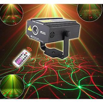 Projecteur R&g Laser 4patterns à distance