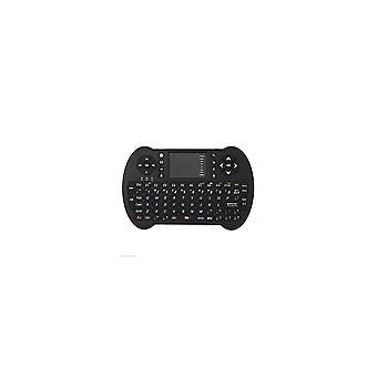 S501 2.4G Wireless Inglese Mini Tastiera Touchpad Airmouse per TV Box PC Smart TV