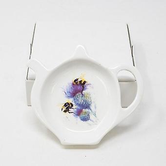 Pyramid International Jane Bannon (bees Of Thistle) Tea Bag Tidy
