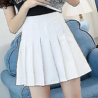 High Waist Nederdel Skoleelev korte kjoler
