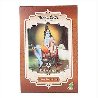 Halvperansiv färgant Henna Radhe Shyam Ljusbrun (100 g)