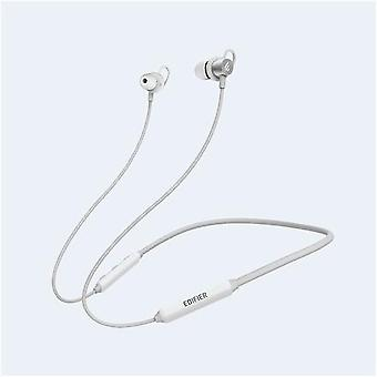 Edifier Wireless Sports Headphones W200BT Necklace, Microphone, 5.0, Yes, Noise Reduction, Silver