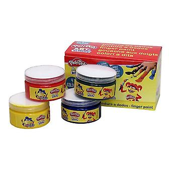 Tempera Finger Paint Play-Doh Painted (4 x 70 ml) (4 x 70 ml)