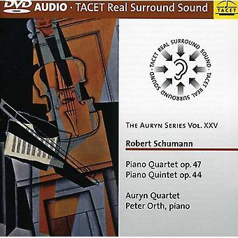 R. Schumann - Schumann: Piano Quartet, Op. 47; Piano Quintet, Op. 44 [DVD-Audio] USA import