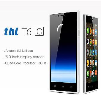 Thl T6c Dual Sim Card Dual Standby Mobiltelefon olåst 3g Smartphone
