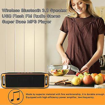 Y30 אלחוטי Bluetooth 3.0 רמקול USB פלאש סטריאו סופר בס נגן Mp3