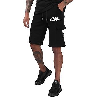 רוז לונדון פרימיום מטען מכנסיים קצרים שחור 88
