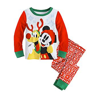 Peuter Kids Boy Girl Mickey Pyjama Set Sleepwear Nachtkleding Pjs Outfit