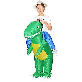 Green Child Model (80-120cm) Yutube Same Dinosaur Inflatable Costume Halloween Costume