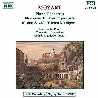 W.a. Mozart - Mozart: Piano Concertos nr 20 & 21 [CD] USA import