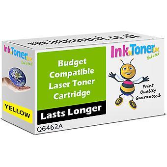 Kompatibel HP 644A Yellow Q6462A tonerkassett för HP LaserJet 4730x